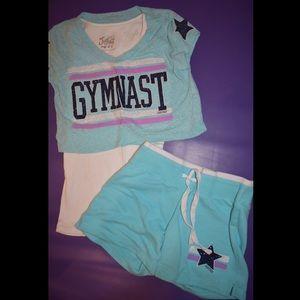 Gymnast Crop Top & Shorts | Kids' Clothing | Girls